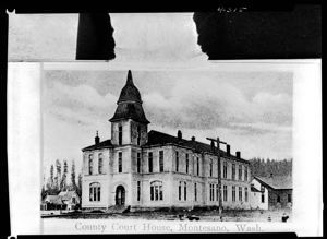 County Courthouse, Montesano, circa 1890, #4315_1