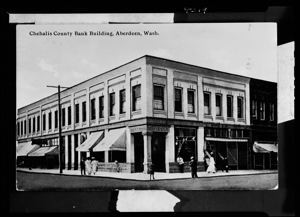 Chehalis County Bank building, circa 1900, #4319_1