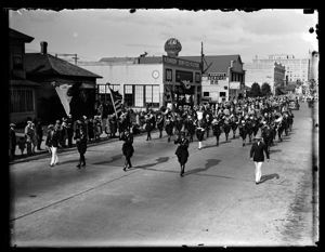 Elks Parade, marching band, circa 1925, #G0881_1