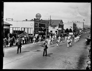 Elks Parade, drum corps, circa 1925, #G0882_1