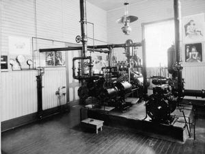 Aberdeen City Pump Station interior, 8/1894, #4275_1